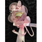 Baby Shower Pink Princess Corsage Keepsake Gift Decoration